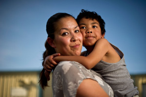 Inmate woman immigrant latina mom