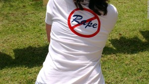 Rape shirt sexual assault college activism