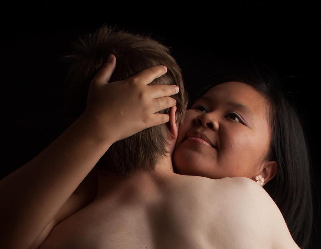 Hetero sex intimacy