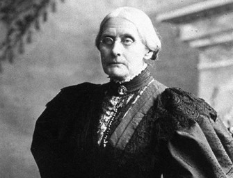 Columbus has a national holiday, but not Susan B. Anthony?