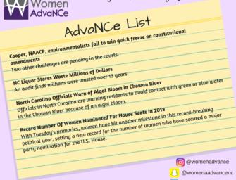 AdvaNCe List: August 2 through 9th
