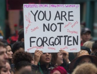 Stand with Families of Missing and Murdered Indigenous Women
