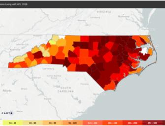 31,864: HIV/AIDS in North Carolina
