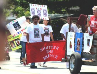 Many March for the Missing and Murdered in the Lumbee Homecoming Parade